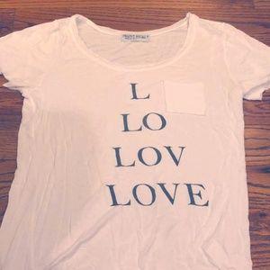 "Women's ""Love"" Logo Short-Sleeve T-shirt - Cute fo"
